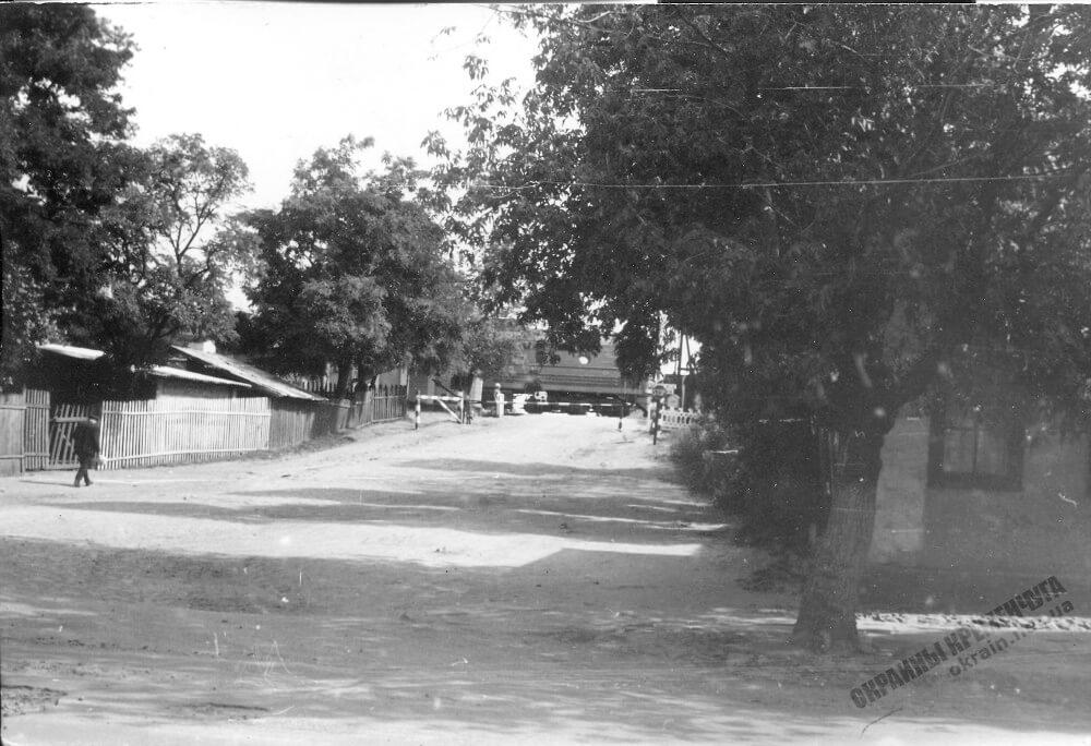 Железнодорожная улица в Кременчуге 1973 год фото номер 2297