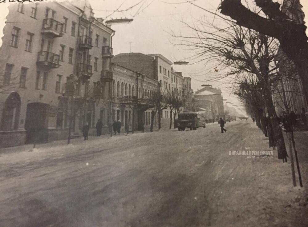 Центральная улица в Кременчуге 1963 год фото номер 2307