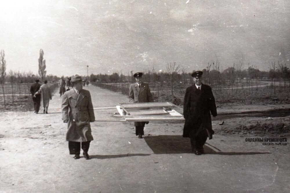 Аллеи Приднепровского парка 1960 год фото номер 2308