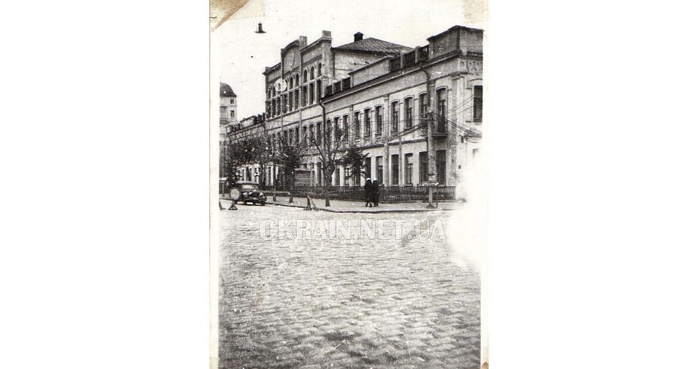 Улица Ленина (ныне Соборная) в Кременчуге 1942 год фото номер 2360