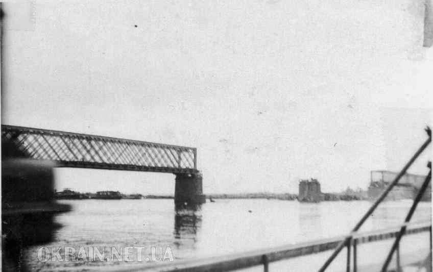 Разрушенный железнодорожный мост 1941 год фото номер 2362