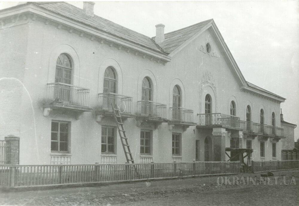 Жилой дом по улице Цюрупы 1950 год фото 2376