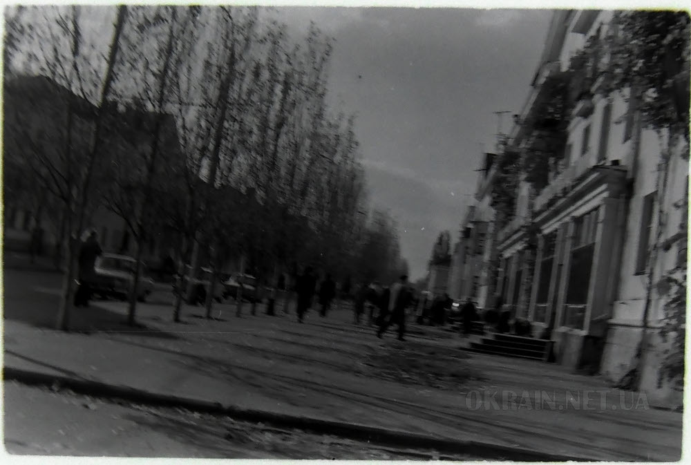 Центральная улица в Крюкове фото 2385